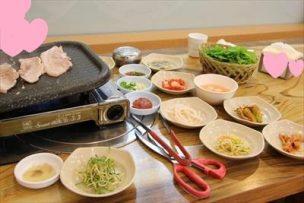 ほとんどタダ(実費137円!)で韓国料理♪